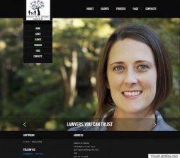 Website Design - Attorney at Law, Kristin Drake