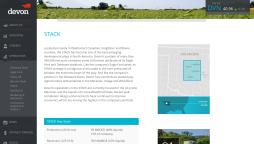 Website Design - Devon Energy
