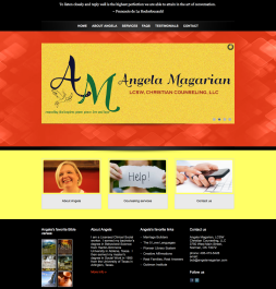 Website Design - Psychotherapist, Angela Magarian