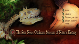 Website Redesign - Sam Noble Museum